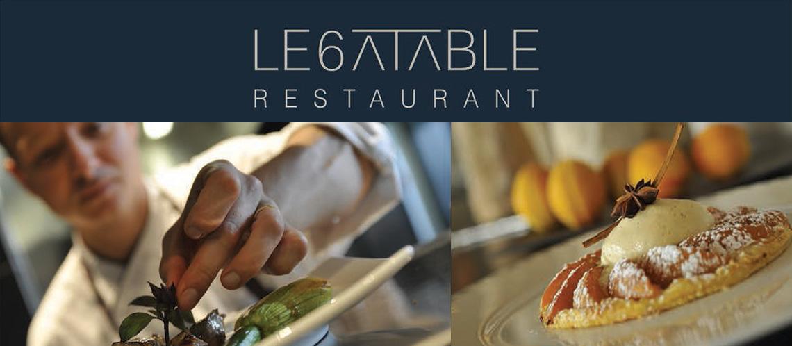 Restaurant le 6 table ventoux magazine for Restaurant caromb