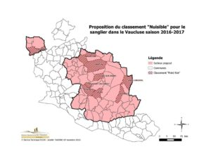 carte classement nuisible