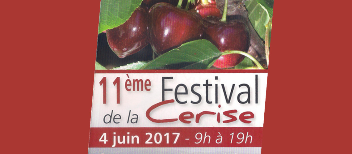 Festival cerise Venasque
