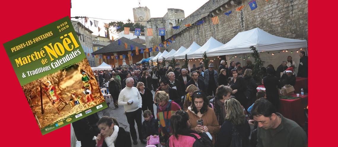 Dimanche 17 décembre, vivez à Pernes-les-Fontaines un marché de Noël incontournable