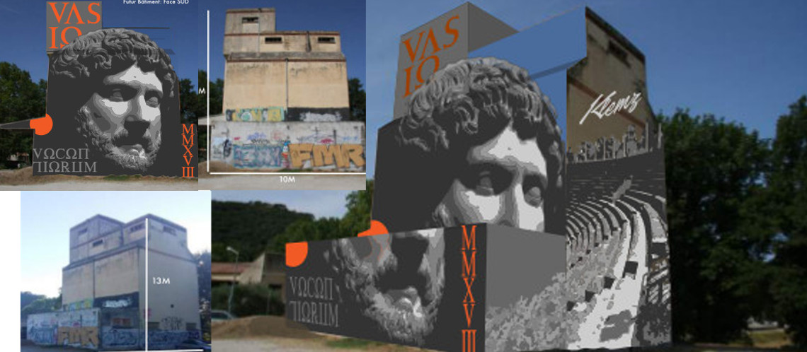 Un grand projet artistique pour le Moulin de César à Vaison-la-Romaine