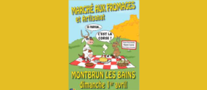 marché fromages montbrun