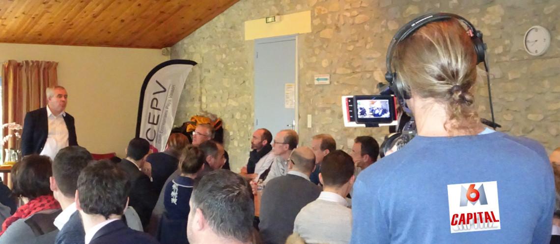 L'émission Capital de M6 à la rencontre des entrepreneurs du Pays Vaison