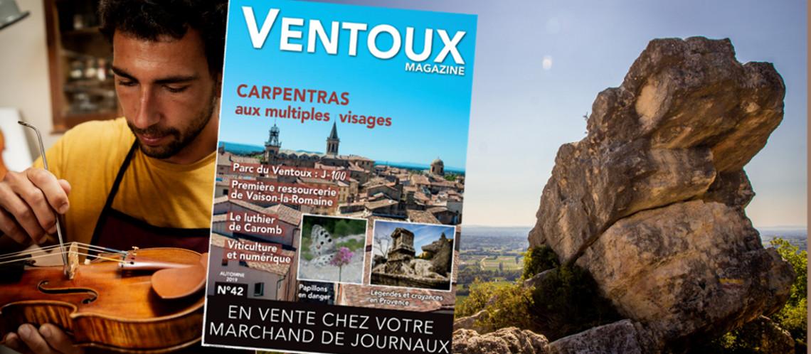 Le Ventoux Magazine automne n°42 est paru!