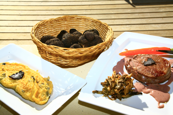 Le Chalet Reynard et ses menus truffes