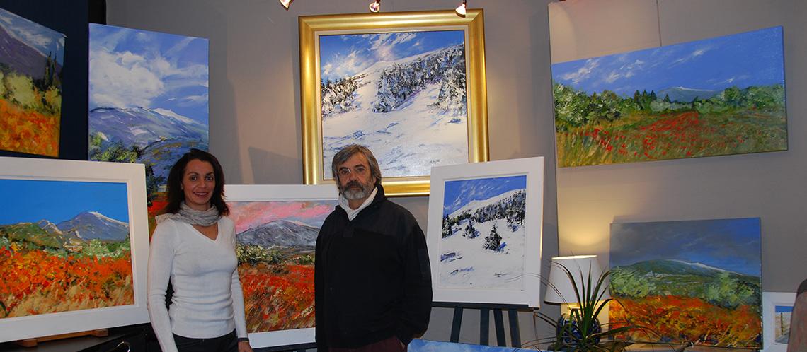 Turquin : le peintre du mont Ventoux en toute saison