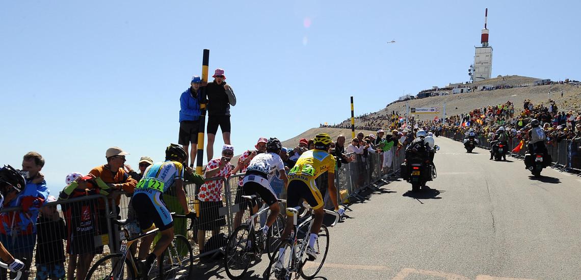 Étape du 14 juillet du Tour de France: les horaires de passages des coureurs et de la caravane jusqu'au Ventoux