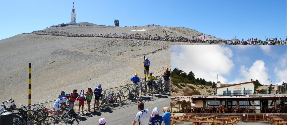 L'arrivée de la 12ème étape du Tour de France déplacée du sommet du Ventoux au Chalet Reynard