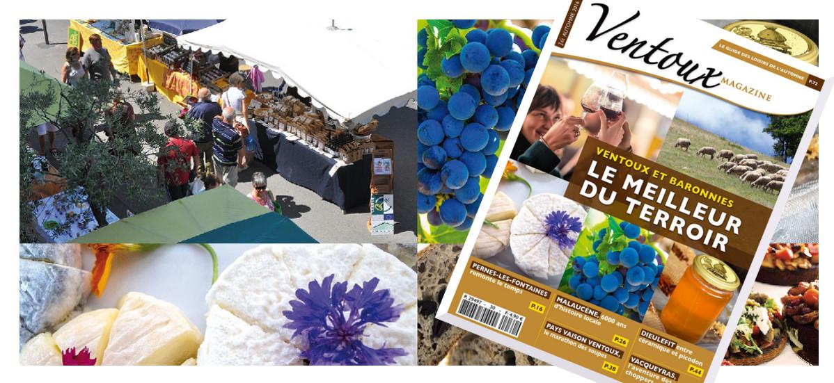 C'est la fête des papilles dans le nouveau Ventoux Magazine