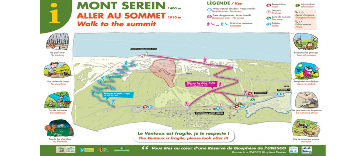 Accéder au sommet du Ventoux en toute sécurité ce jeudi 14 juillet