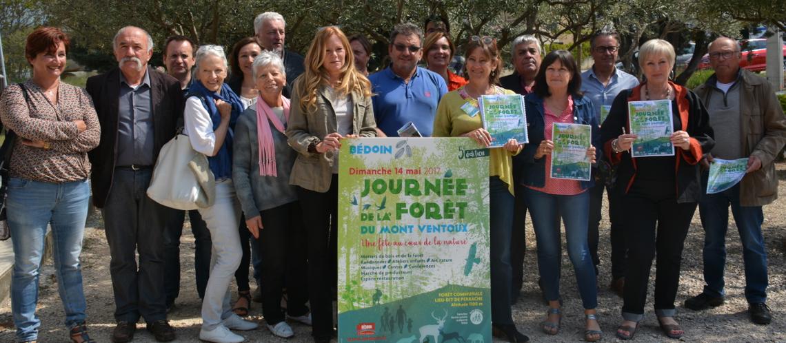 Tous mobilisés pour la journée de la Forêt à Bédoin le 14 mai