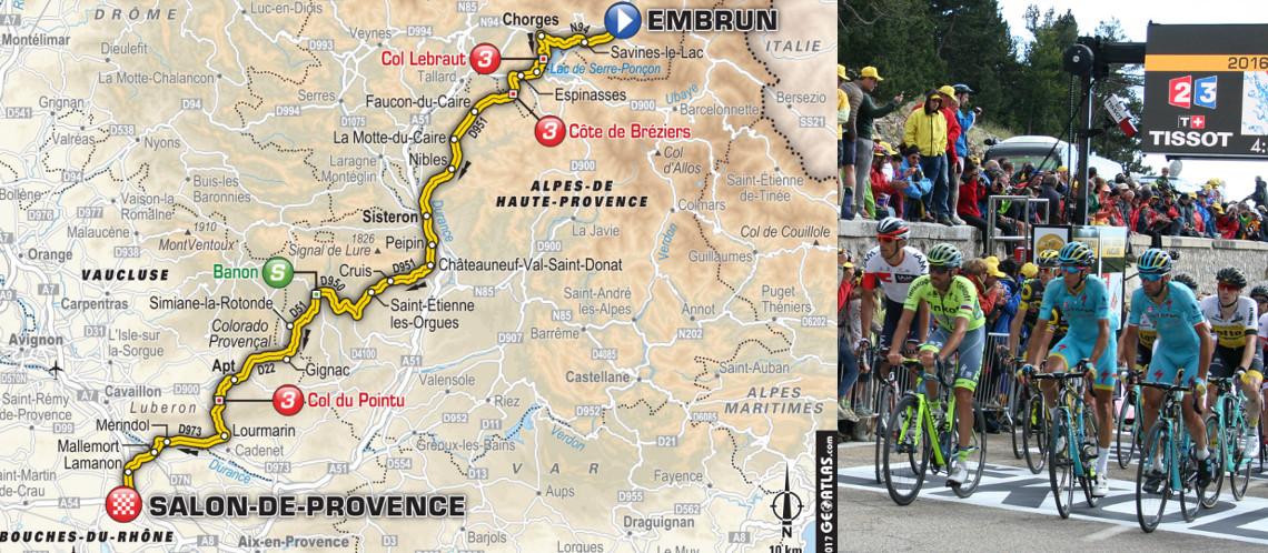 Passage en Vaucluse du Tour de France 2017 vendredi 21 juillet