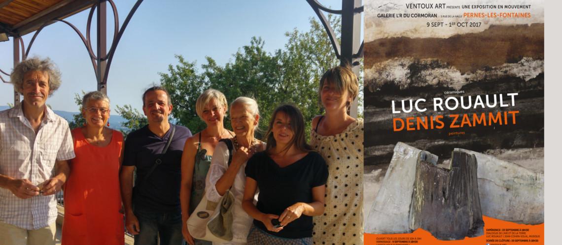 L'évènement Ventoux Art à L'R du Cormoran à Pernes-les-Fontaines