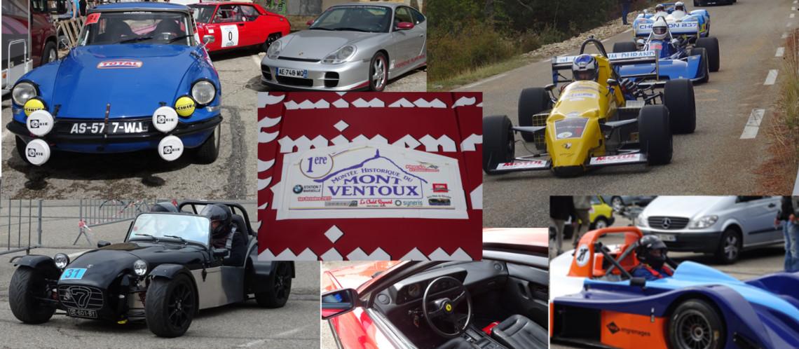 Première montée historique du Ventoux: À fond les vieux bolides !