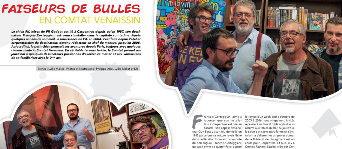 Faiseurs de bulles en Comtat Venaissin…et à Nyons