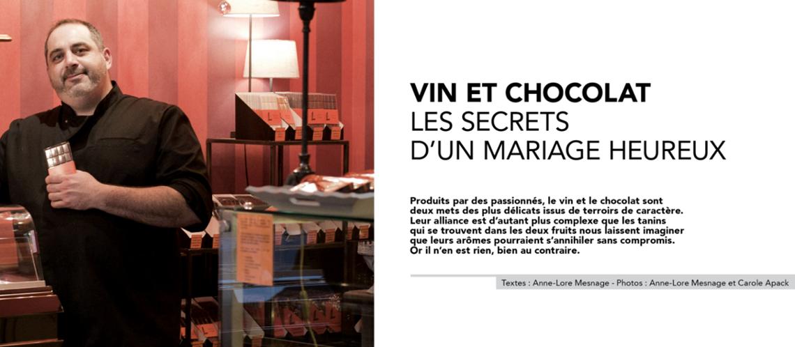 Vin et chocolat : Les secrets d'un mariage heureux