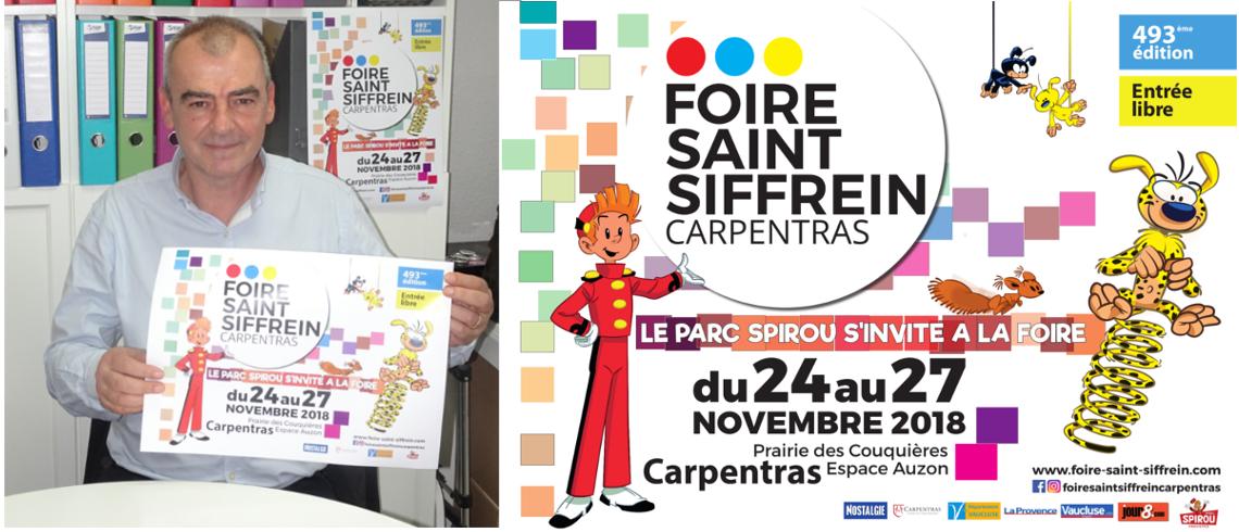 Carpentras : la 493ème Foire Saint-Siffrein se recentre sur le local et invite le Parc Spirou