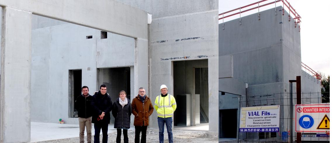 Bientôt le nouveau cinéma Florian à Vaison-la-Romaine : un bâtiment tout neuf et des tarifs inchangés