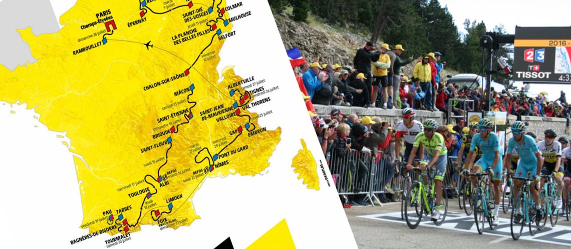 Le détail du passage du Tour de France en Vaucluse le mercredi 24 juillet