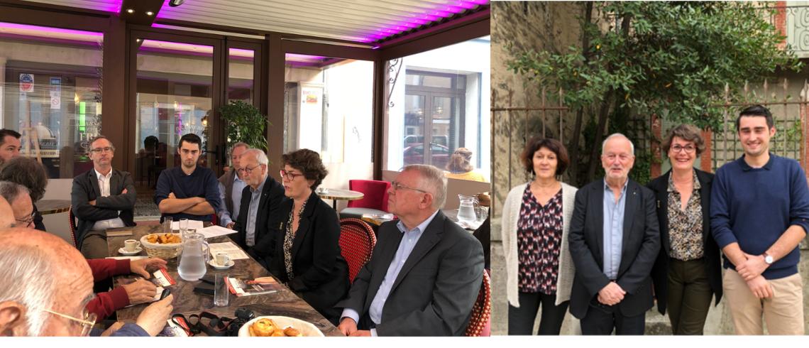 Vaison-la-Romaine : La conseillère départementale Sophie Rigaut entre en campagne