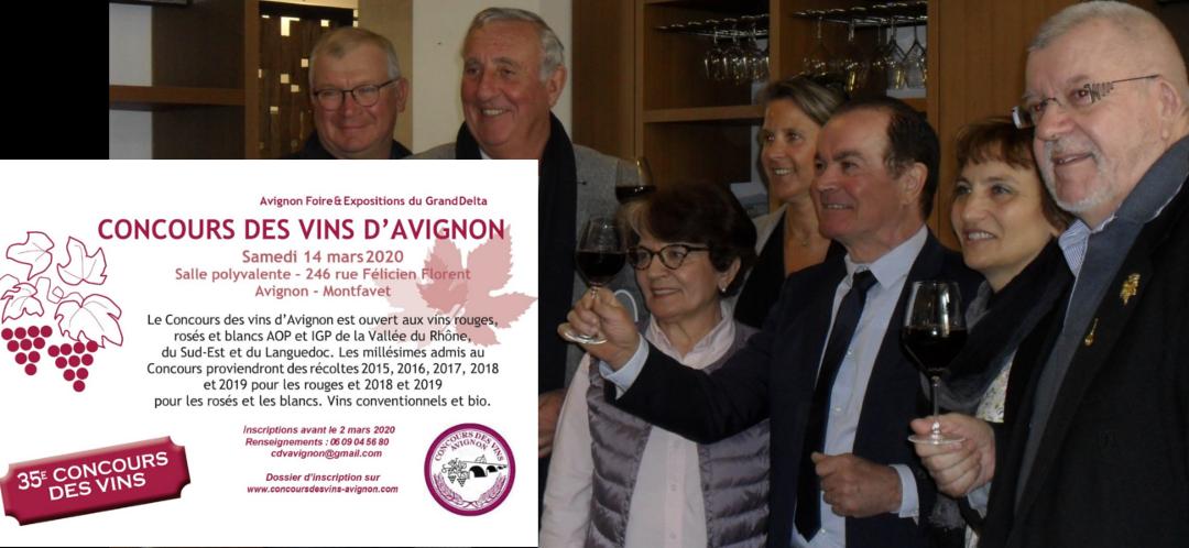 Avignon : plus de 900 échantillons en lice au 35ème concours des vins