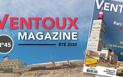 Le Ventoux Magazine été 2020 n°45 est paru !