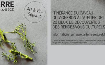 Arterre à Séguret : 20 lieux de découverte du caveau de vigneron à l'atelier d'artiste